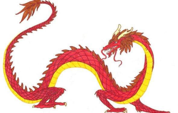 Китайский золотой дракон