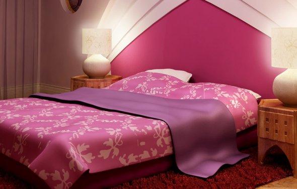 спальня по фен шуй фото