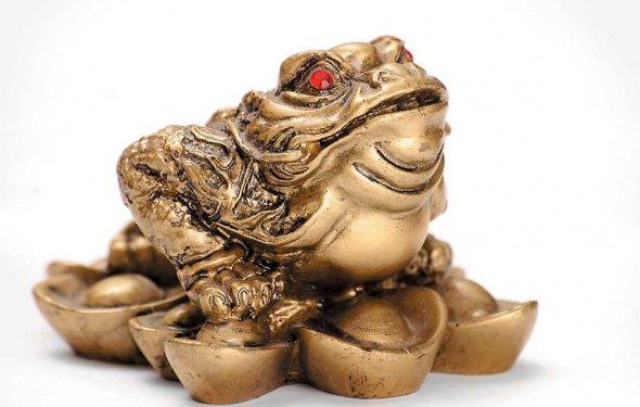Трехлапая жаба – символ