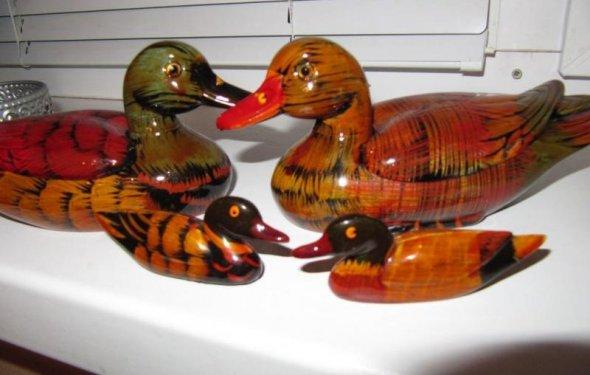 Уточки-мандаринки фото